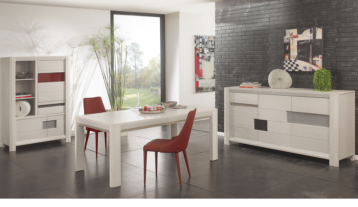 les meubles de la salle manger contemporaine girardeau. Black Bedroom Furniture Sets. Home Design Ideas