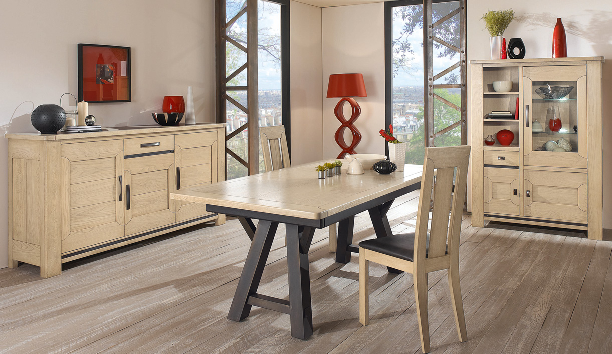 les tables de salle manger moderne par girardeau. Black Bedroom Furniture Sets. Home Design Ideas