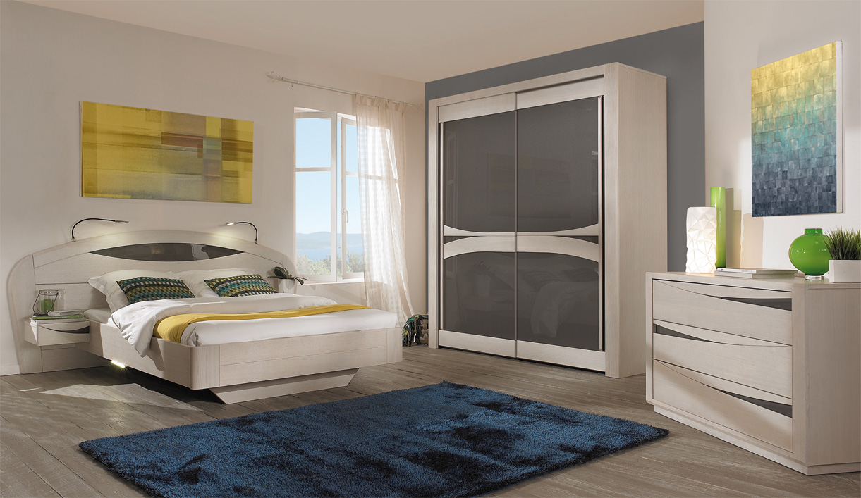 Modele de chambre a coucher 2015 for Modeles chambres a coucher adultes