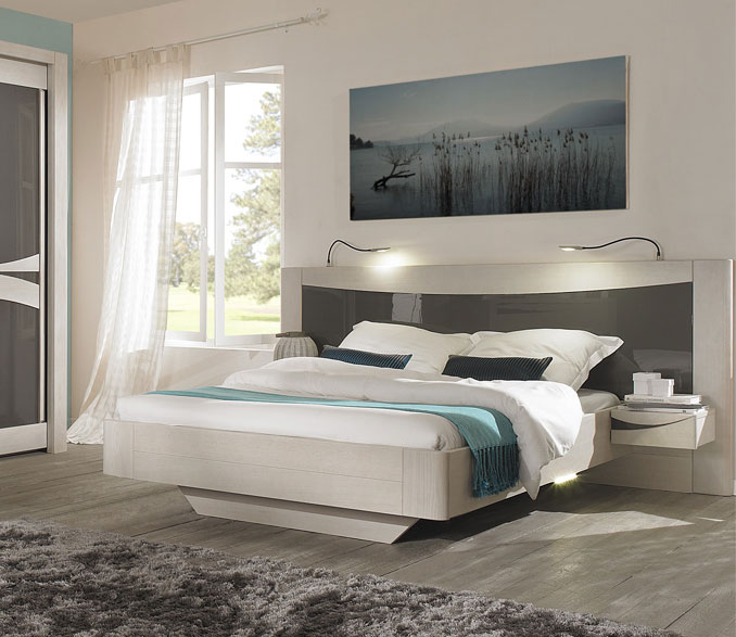 un lit design pour bien dormir avec les meubles girardeau. Black Bedroom Furniture Sets. Home Design Ideas